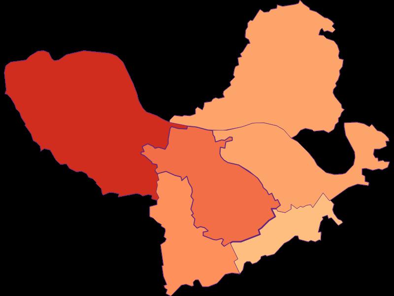 Размер домохозяйства в St. Martin-Karlsbach