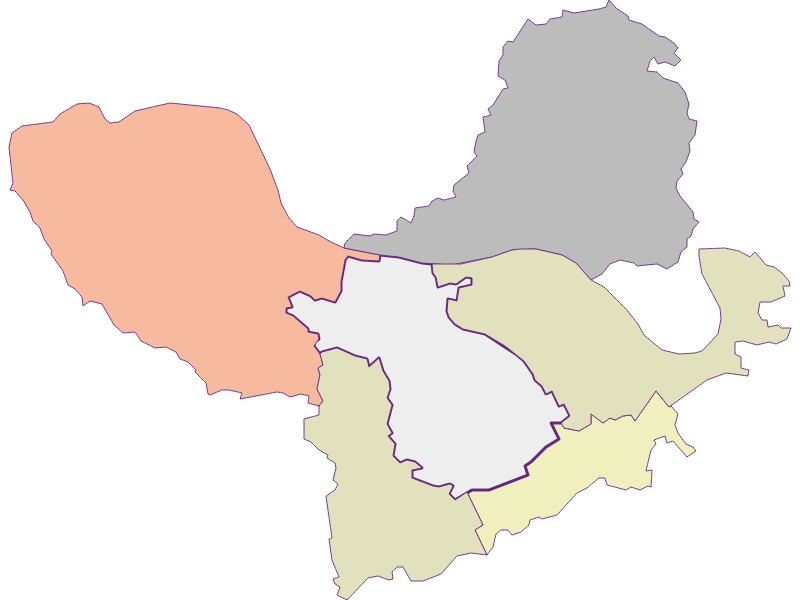 Farmers (comparison to federal state) in St. Martin-Karlsbach