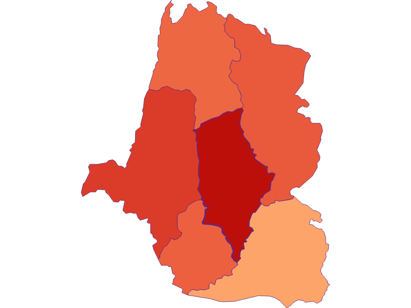 Household size in St. Oswald