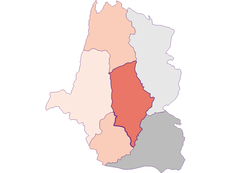 Farmers (comparison to federal state) in St. Oswald