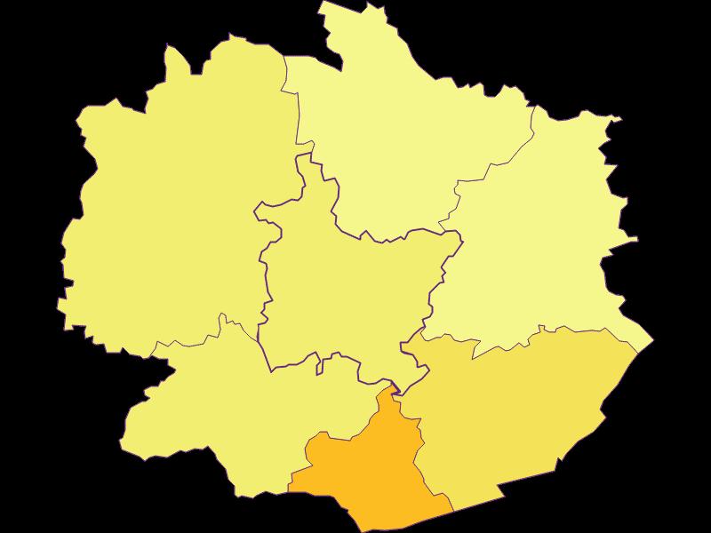 Плотность населения в Weiten