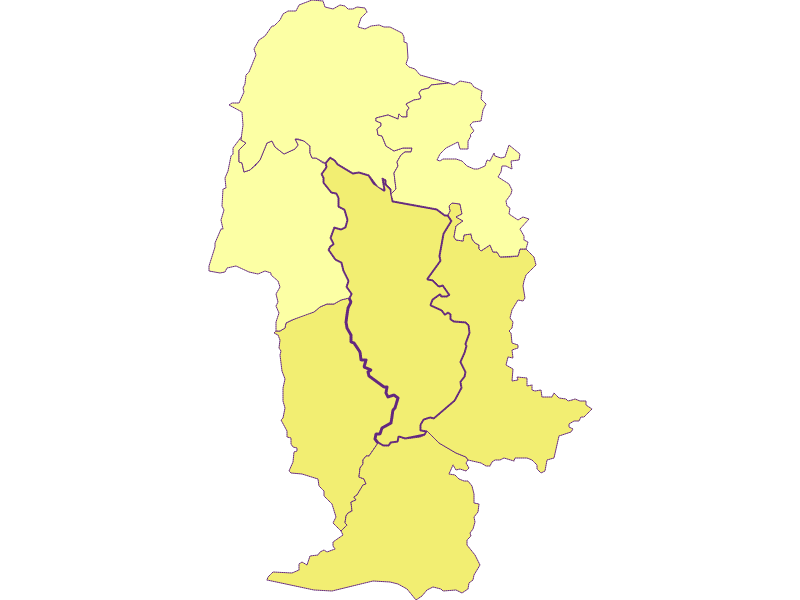 Плотность населения в Yspertal