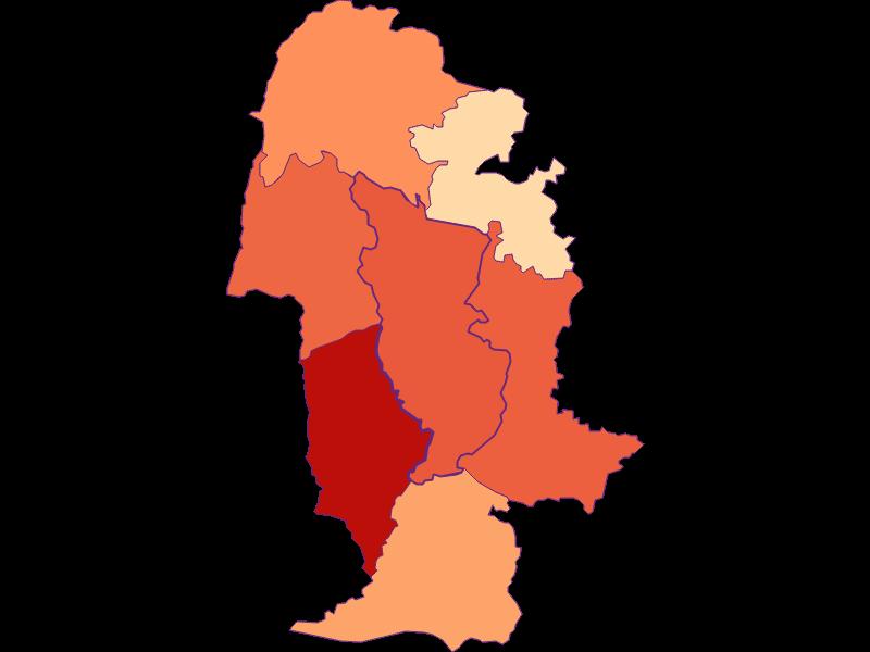 Размер домохозяйства в Yspertal