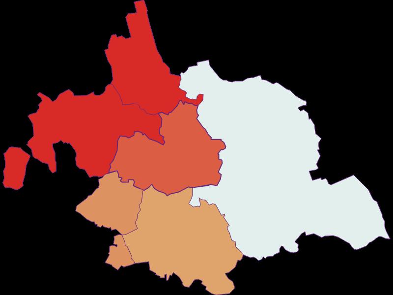 Population development since 1869 in Asparn an der Zaya