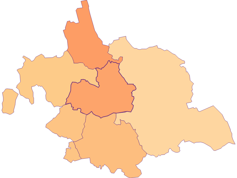 Household size in Asparn an der Zaya