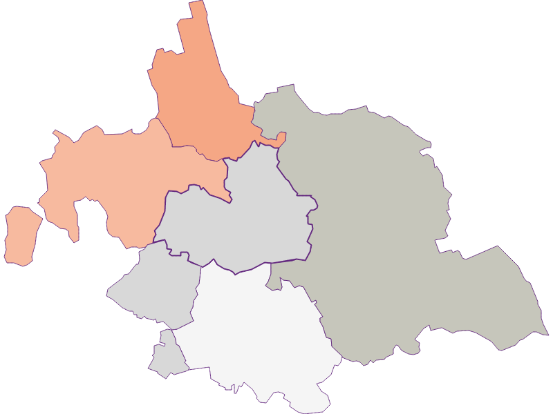 Farmers (comparison to Austria) in Asparn an der Zaya