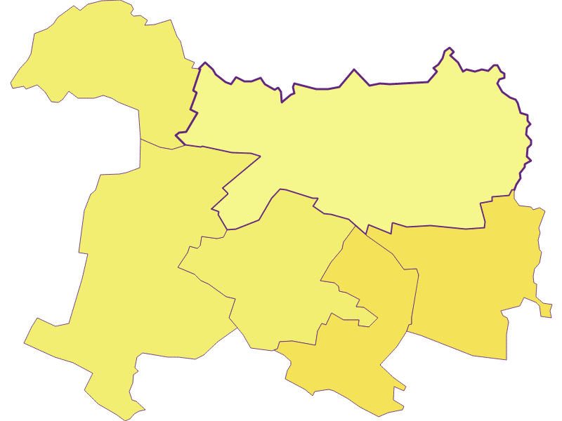 Population density in Bernhardsthal