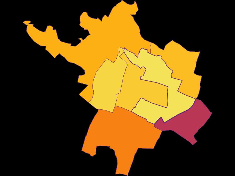Bevölkerungsdichte in Bockfließ