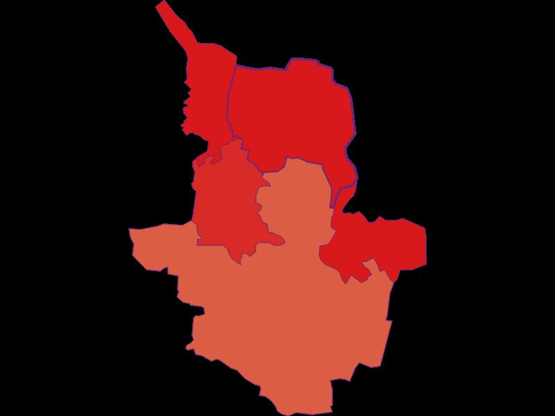 Population development since 1900 in Drasenhofen