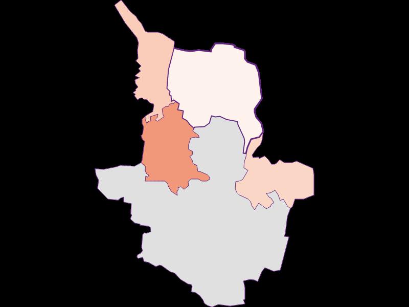 Farmers (comparison to federal state) in Drasenhofen