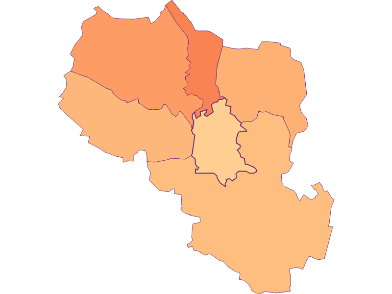 Размер домохозяйства в Falkenstein