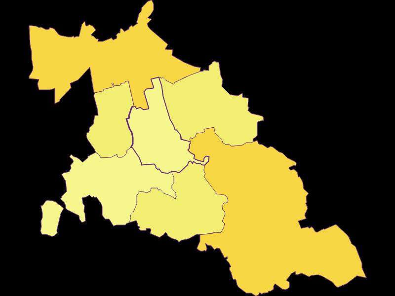 Population density in Fallbach