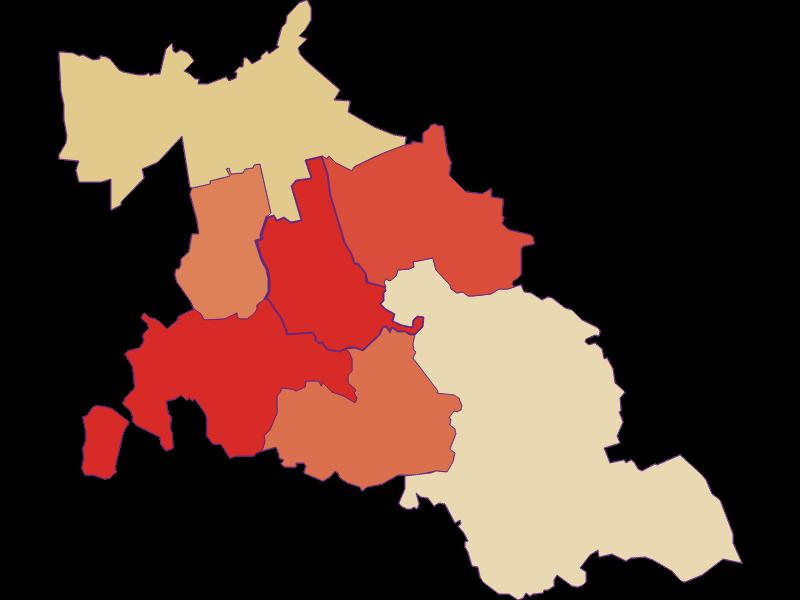 Population development since 1900 in Fallbach