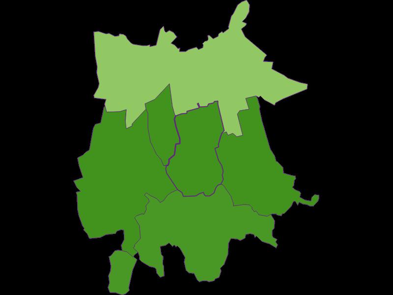 Settlement in Gaubitsch