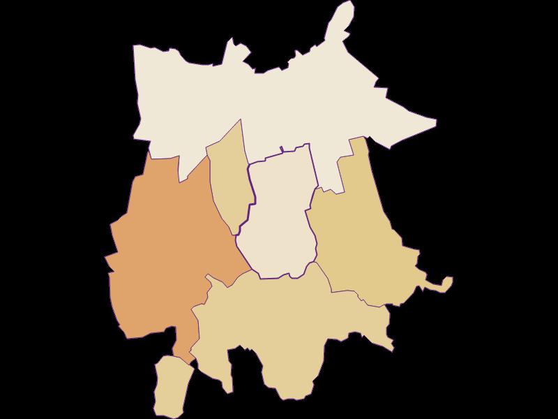 Population development since 2011 in Gaubitsch