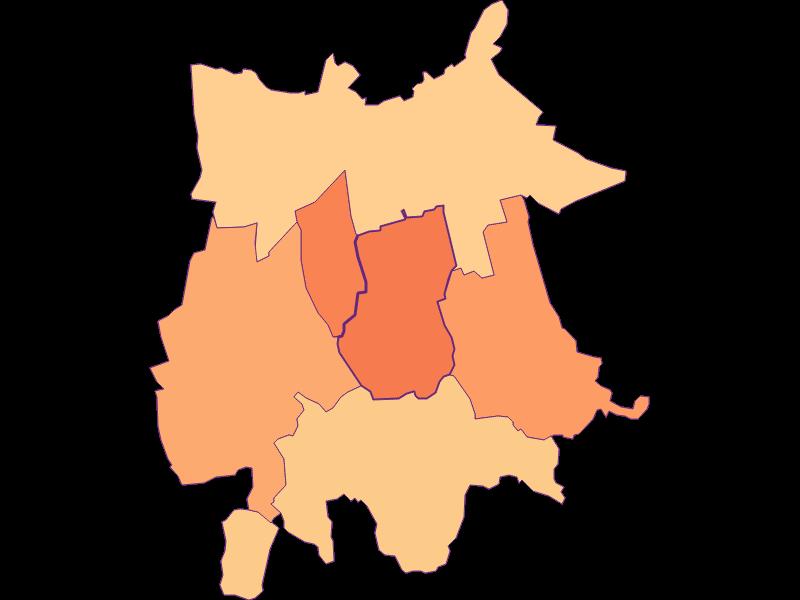 Household size in Gaubitsch