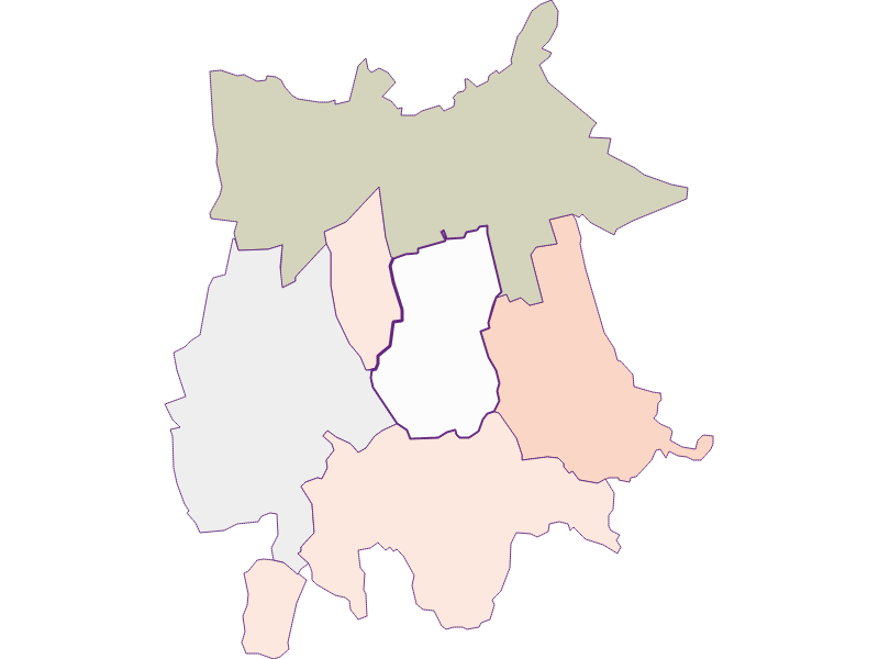 Farmers (comparison to federal state) in Gaubitsch