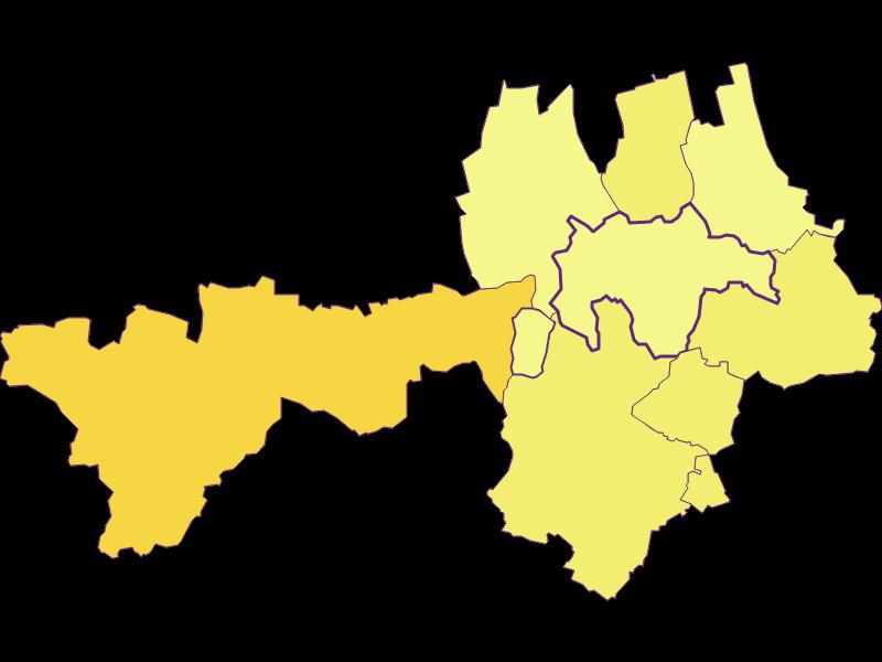 Плотность населения в Gnadendorf