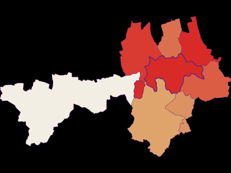 Population development since 1869 in Gnadendorf