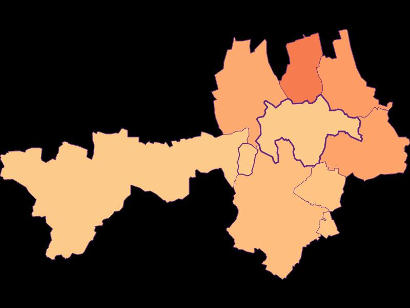 Размер домохозяйства в Gnadendorf
