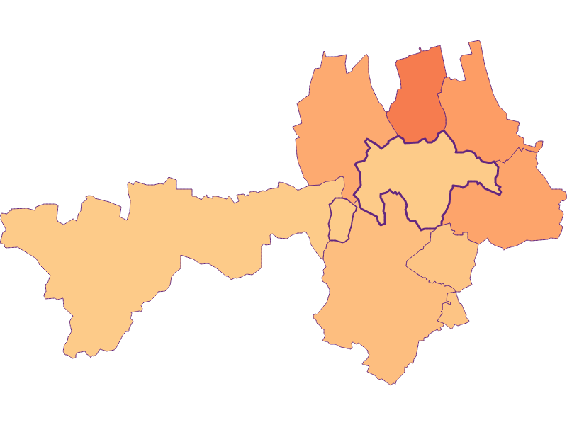 Household size in Gnadendorf