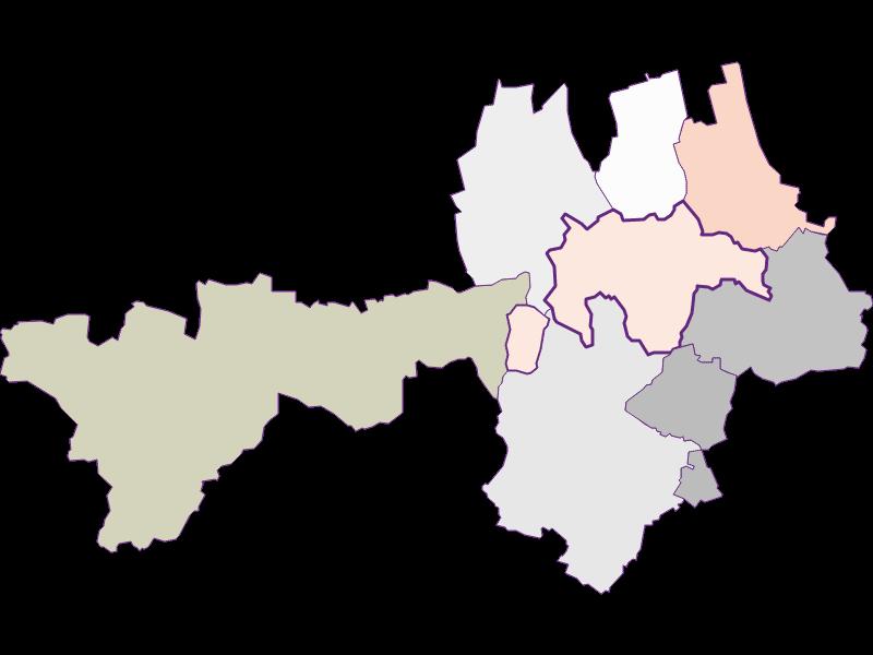 Farmers (comparison to federal state) in Gnadendorf