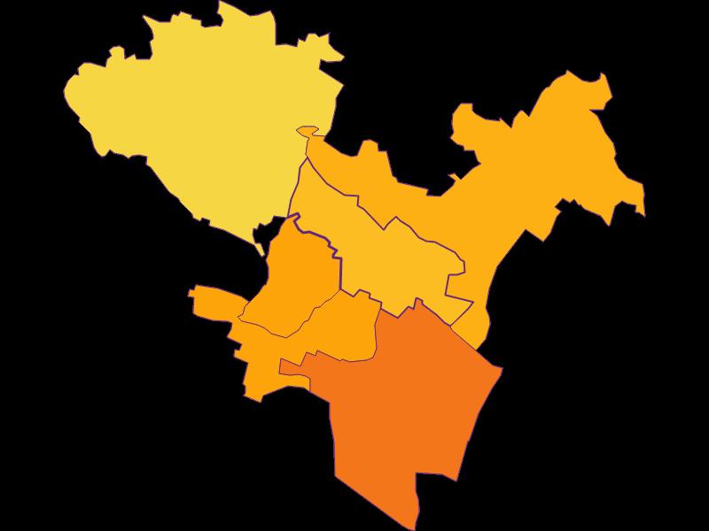 Плотность населения в Großebersdorf