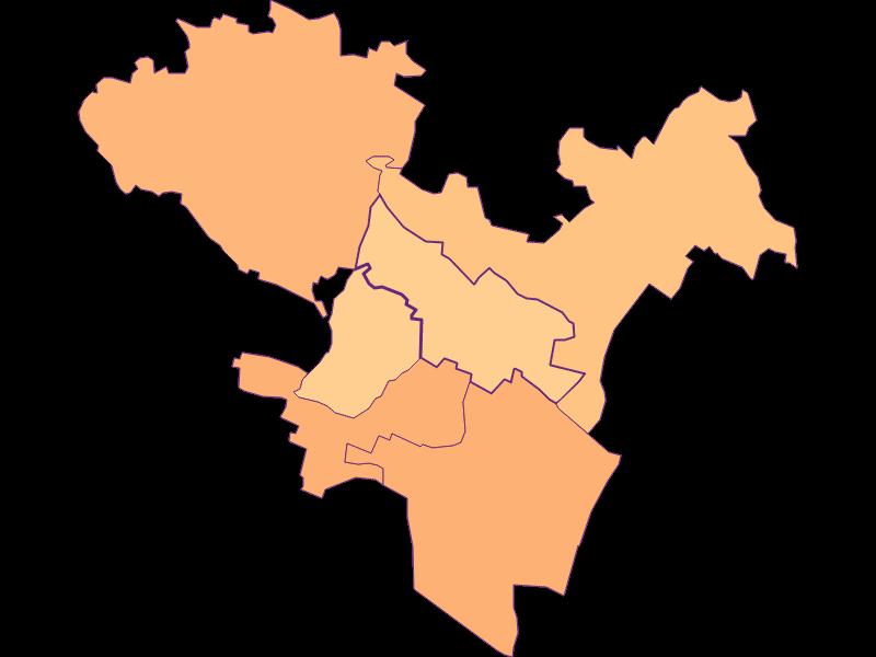 Размер домохозяйства в Großebersdorf