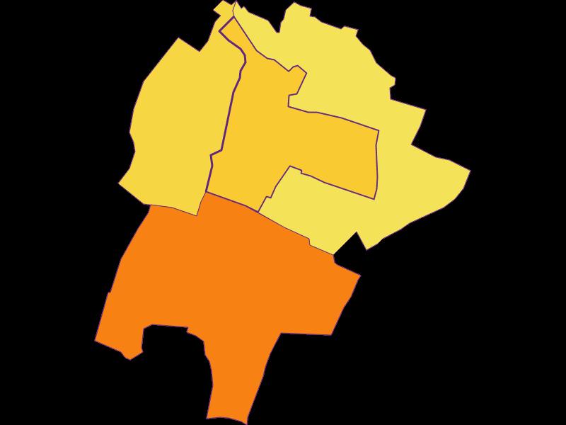 Плотность населения в Großengersdorf