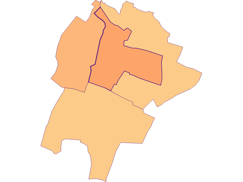 Размер домохозяйства в Großengersdorf