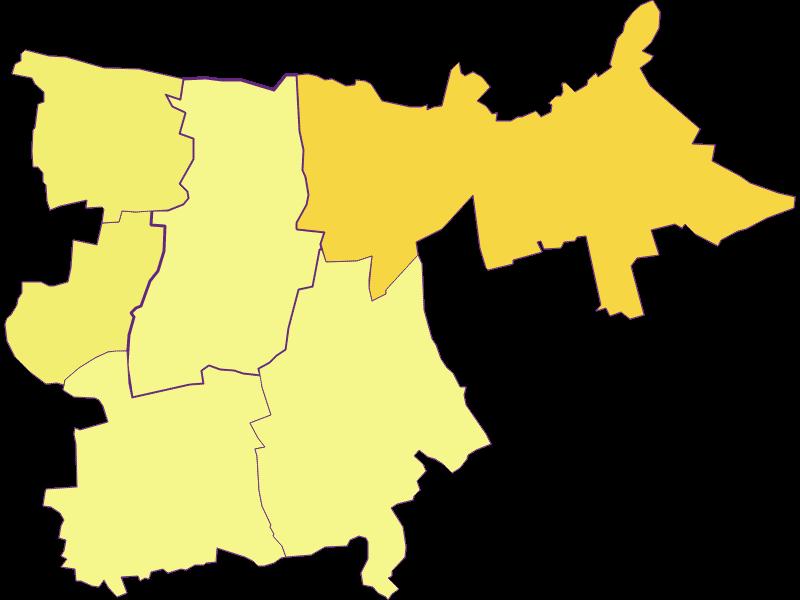 Плотность населения в Großharras