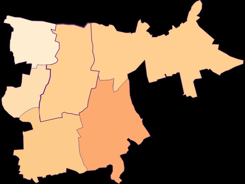 Размер домохозяйства в Großharras