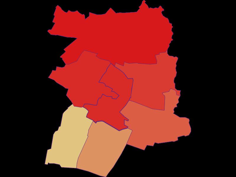 Population development since 1900 in Hausbrunn