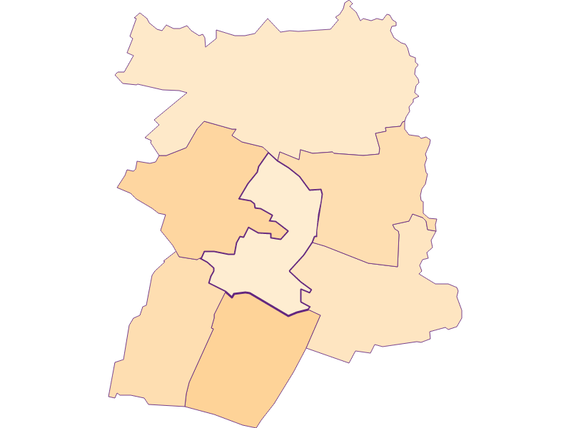 Household size in Hausbrunn