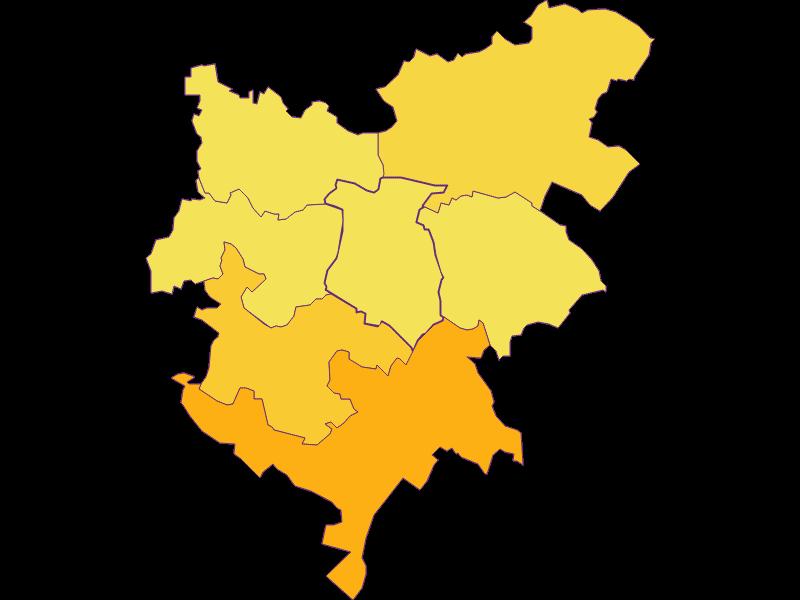 Population density in Hochleithen