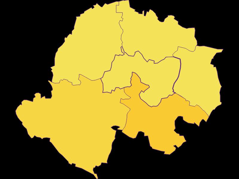 Population density in Kreuttal
