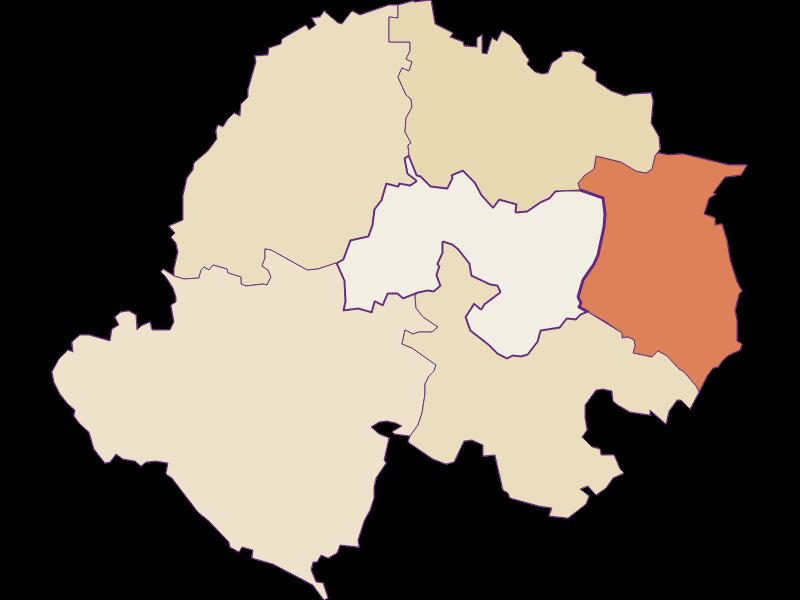 Population development since 1869 in Kreuttal