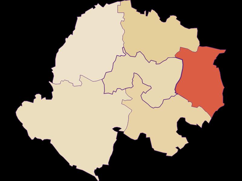 Population development since 1900 in Kreuttal