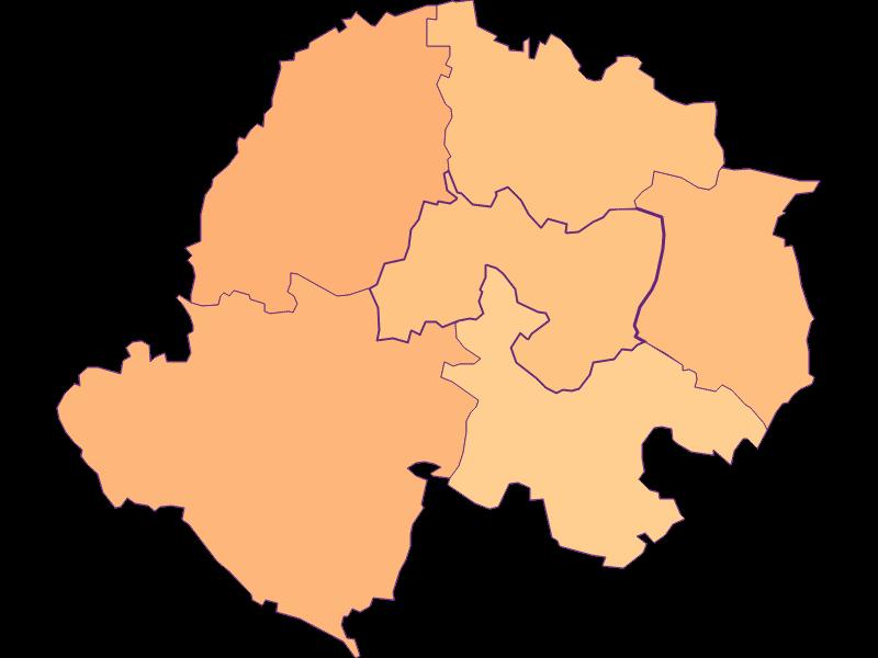 Размер домохозяйства в Kreuttal