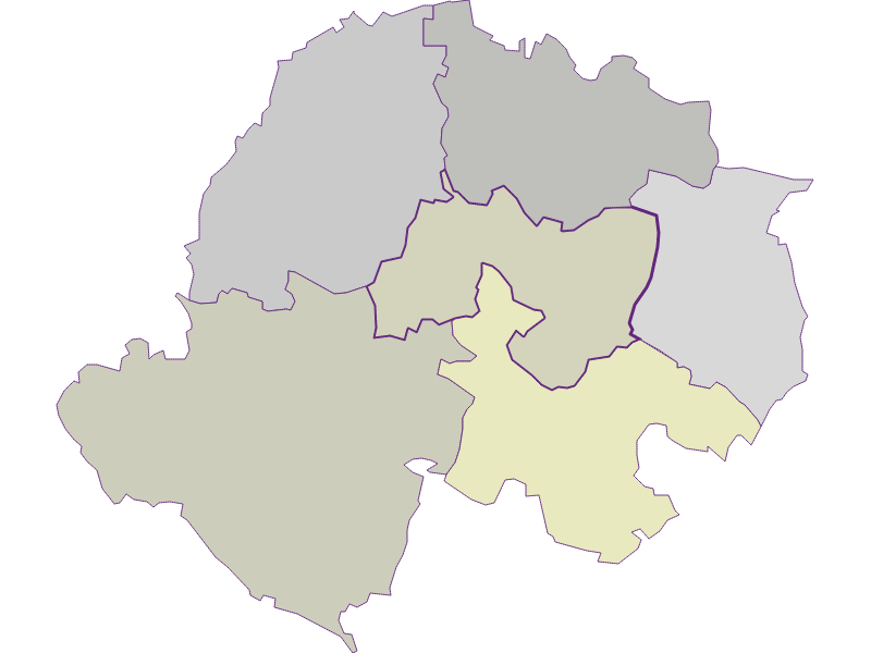 Farmers (comparison to federal state) in Kreuttal