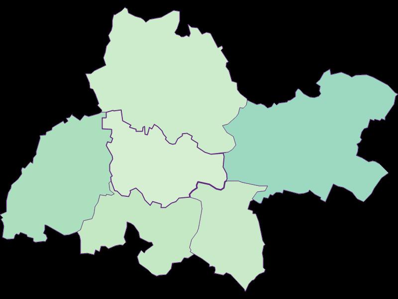 Доля иностранцев в Kreuzstetten