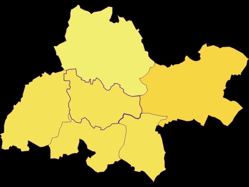 Плотность населения в Kreuzstetten