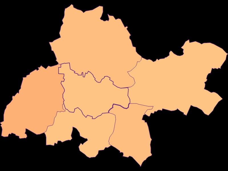 Размер домохозяйства в Kreuzstetten