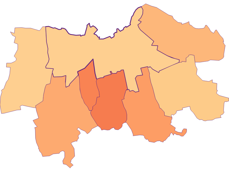 Размер домохозяйства в Laa an der Thaya