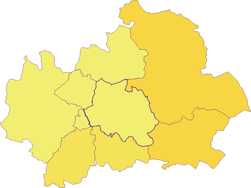 Population density in Ladendorf