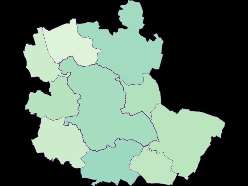 Доля иностранцев в Mistelbach
