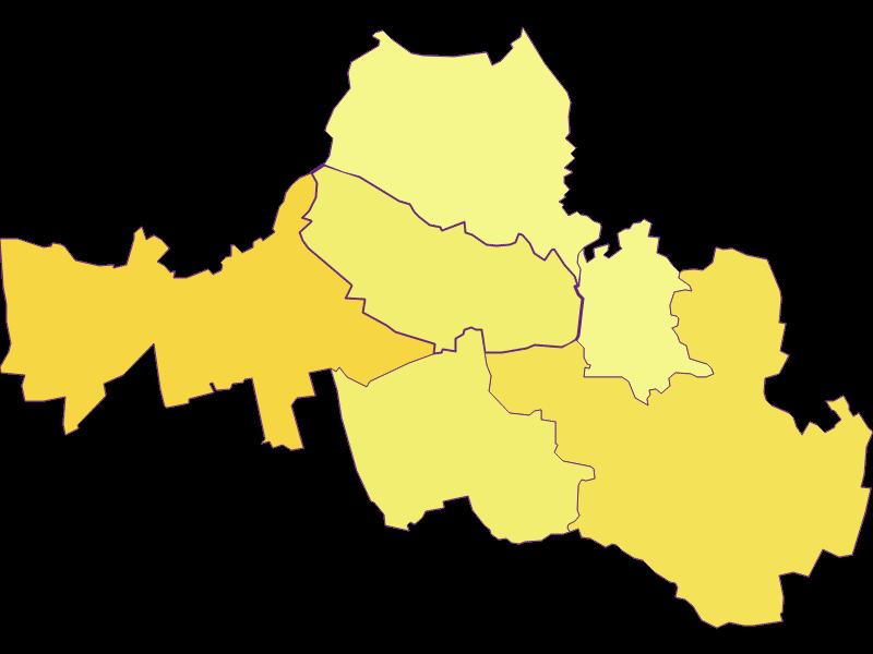 Плотность населения в Neudorf bei Staatz