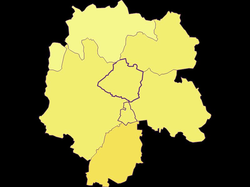 Плотность населения в Niederleis