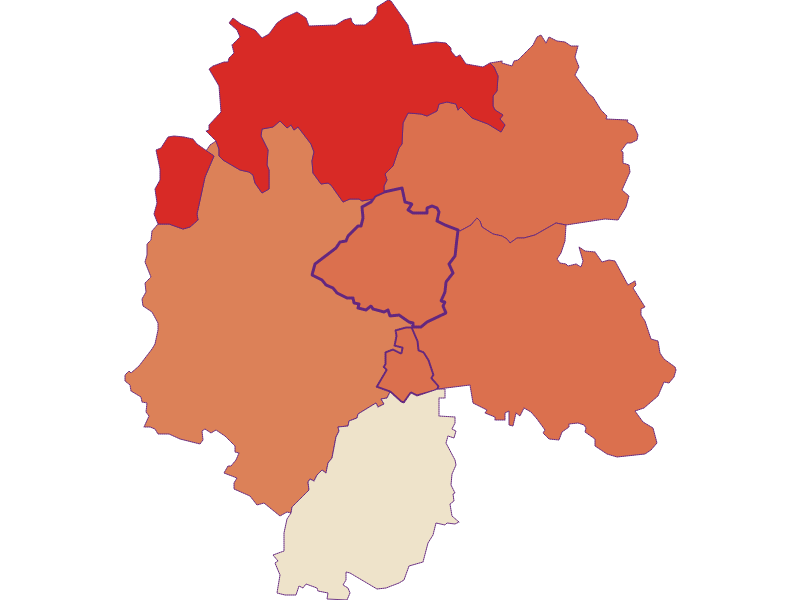 Демография с 1900 года в Niederleis