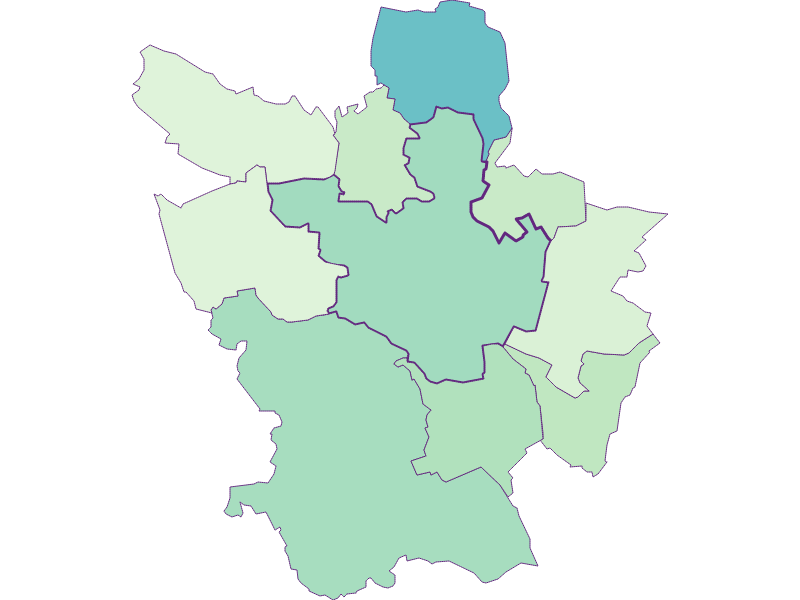 Share of foreigners in Poysdorf